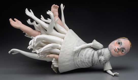la veronal pasionaria foto y escultura Megan Bogonovich