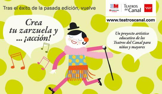 Taller Crea tu zarzuela Teatros del Canal