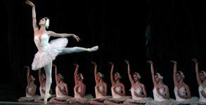 el lago de los cisnes teatros del canal Ballet nacional de cuba