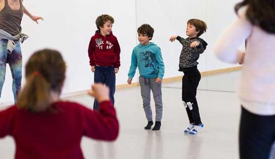 taller de danza en familia