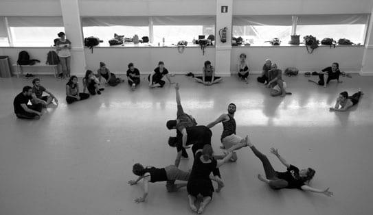 taller de danza para jóvenes con lisarco