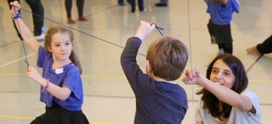 Taller de danza de creación colectiva para familias